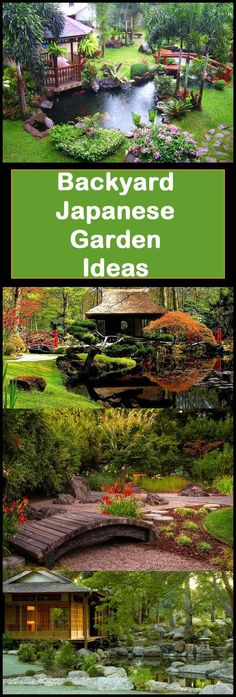 backyard garden ideas - DIY garden tips - beautiful backyards Ready to create your own backyard Japanese garden? These tips will help! I've been looking into Japanese gardening ideas to create a gorgeous space around my inflatable hot tub. Asian Garden, Japanese Garden Backyard, Small Japanese Garden, Japanese Garden Design, Small Backyard Gardens, Large Backyard, Diy Garden, Garden Projects, Backyard Landscaping