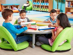 Top-quality classroom furniture—from traditional chairs & tables to mobile desks & other flexible seating options! Early Learning Activities, Learning Spaces, Learning Centers, Childcare Rooms, Traditional Chairs, Lakeshore Learning, Classroom Furniture, Kids Room Organization, Organizing Ideas