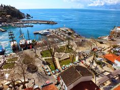Looking Down On #Antalya Harbour From The Lift