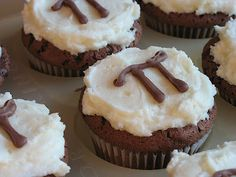 Pi Day Cupcakes :) A Great Way to Celebrate All that is Pi.
