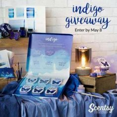 Register at https://la.scentsy.us/Buy/Category/3376 by 8 May 2016 to win a free Scentsy Indigo bundle worth $75. No purchase necessary. | Pinterest