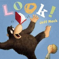 "JJ HUMOR MAC. Using only two words--""look"" and ""out""--relates a story about an attention-loving gorilla, a television-loving boy, and a friendship that develops over books."