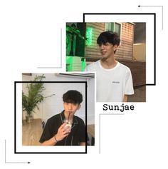 """SUNJAE : Lee Sunjae"" by di-verse ❤ liked on Polyvore featuring art"