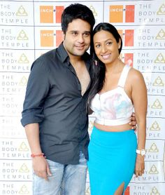 Krishna Abhishek arrived with girlfriend Kashmira Shah for the brunch hosted in Mumbai. #Style #Bollywood #Fashion #Beauty