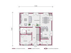 Stadtvilla Concept 4.0 S Grundriss von Ein SteinHaus