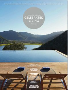 American Airlines new look Celebrated Living Magazine March 2015 issue.