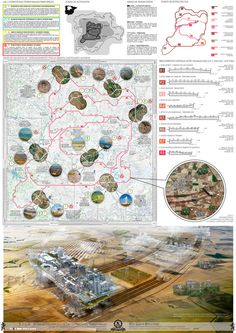 A Walking City for the 21st Century,Presentation Board 4. Image © Manuel Dominguez / Zuloark
