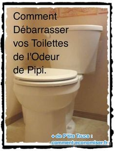 L'astuce pour supprimer odeur urine dans les toilettes