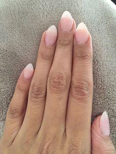Natural acrylic nails almond 190 #AcrylicNailsForSummer #AcrylicNailsStiletto Acrylic Nails Natural, Acrylic Nails Stiletto, Simple Acrylic Nails, Almond Acrylic Nails, Summer Acrylic Nails, Acrylic Nail Designs, Coffin Nails, Acrylic Art, Natural Almond Nails