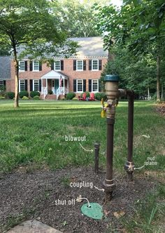 The basics of what goes into installing a whole-yard irrigation system, how much it cost, and why you might wanna think twice about doing it yourself. Irrigation System Design, Garden Irrigation System, Sprinkler Irrigation, Irrigation Systems, Garden Landscape Design, Garden Landscaping, Landscaping Ideas, Irrigation Methods, Vegetable Garden Planner