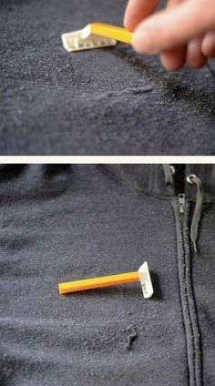 Today, we are happy to share with you many ingenious and best clothing hacks and tricks to make your life easier. It only takes 5 minutes to browse through these clothing hacks and learn some 1000 Lifehacks, Do It Yourself Inspiration, Quites, Clothing Hacks, Home Hacks, Pills, Good To Know, Home Remedies, Shaving