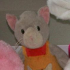 GIPPSLAND/DUBBO AUSTRALIA.  This very loved teddy (cat?) with pink ears and orange and red jumper was lost on a road trip somewhere between Gippsland and Dubbo in Australia. Contact: @lostteddybear or https://www.facebook.com/TeddyBearLostAndFound