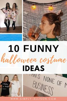 Here's some of the hottest College Halloween costume ideas that you want to wear at parties. Whether you want to dress up with your best friend or your boyfriend your costume is definitely going to impress.#halloween #halloweencostumeideas #collegehalloween Creative College Halloween Costumes, College Costumes, Popular Halloween Costumes, Couple Halloween Costumes, Easy Halloween, Bestfriends, Costume Ideas, Boyfriend, Parties