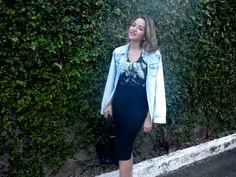 The Leila's Blog: Terceira peça   Sobreposição jeans