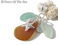 Seahorse Sea Glass Necklace