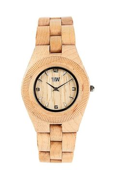 Try this watch with a great pair of wooden clogs, you will stand out from the crowd.
