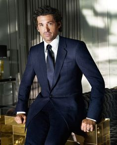 Patrick Dempsey, I huess It's because of Grey's Anatomy's syndrome :P