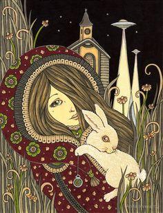 Anita Inverarity | INK on illustration board | Chapel Perilous