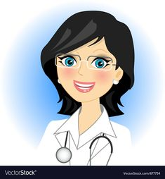 Illustration about Vector illustration of a doctor. Illustration of human, doctor, dentist - 19256773 Doctor Drawing, Flight Nurse, Well Images, Girl Doctor, Jobs In Art, Cartoon Girl Images, Female Doctor, Illustration, Cartoon Drawings