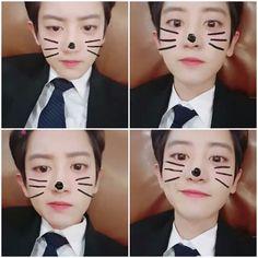Park's Weibo update. #Chanyeol #Rabbit