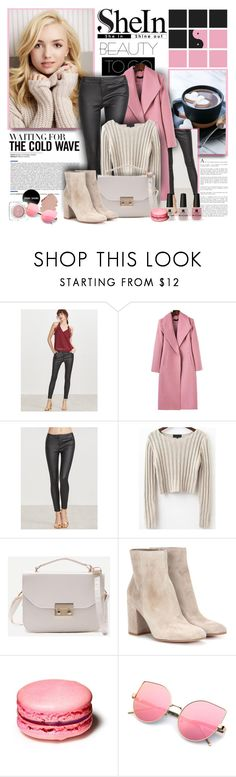 """""""SheIn"""" by sneky ❤ liked on Polyvore featuring Gianvito Rossi and Victoria's Secret"""