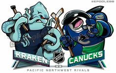 The Seattle Kraken 🏒are a professional ice hockey expansion team based in Seattle. 🥅 The team will compete in the National Hockey League as a member of the Pacific Division in the Western Conference, beginning with the league's 2021–22 season.🇺🇸 #seattlekraken #ReleaseTheKraken #kracken #thekracken #seakracken #seattle #seattlesports #hockey #nhl #icehockey #hockeylife #stanleycup #hockeyislife #nhlhockey Hockey Goalie, Hockey Teams, Ice Hockey, Nhl Logos, Sports Logos, Sports Teams, Uw Huskies, Monster Board, Mls Soccer