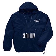 Navy KL World Wide  Wind breaker