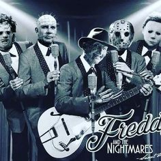 Went to see a new band last night , to be honest they ended up being a bit of a nightmare . Slasher Movies, Horror Movie Characters, Horror Villains, Classic Horror Movies, Iconic Movies, Horror Icons, Horror Films, Horror Posters, Horror Stories