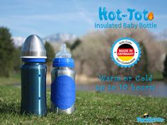 Have you tried our NEW Hot-Tot Bottles? They stay warm or cold for up to 10 hours and come in baby and toddler sizes!