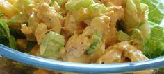 Joghurtos csirkesaláta ananásszal | Receptváros - recept képpel