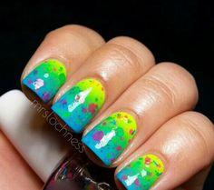 Neon speckal