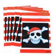 6 bolsas pirata