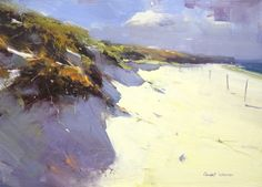Baker Beach, San Francisco • 10x14. Colley Whisson • $1550