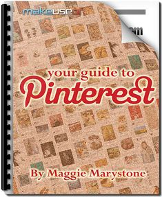 "Get the most out of Pinterest. Whether you've begun using this fast-growing social network or have only heard of it, ""Your Guide To Pinterest"" will quickly show you how to get the most out of this occasionally overlooked virtual pinboard. From Maggie Marystone of This Abandoned House, this guide outlines everything there is to know about Pinterest."