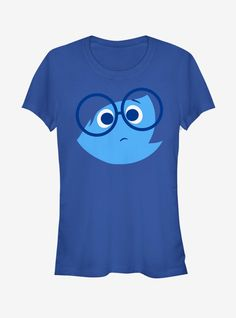 Disney pixar inside out sad face girls t-shirt. Run Disney, Disney Shirts, Disney Pixar, Disney Cruise, Joy Inside Out, Disney Inside Out, Inside Out Characters, Face Characters, Marvel Cosplay Girls