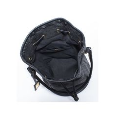 Designer Piñatex™ Bucket Bag in Black 16e3428f3b1
