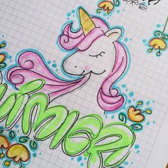 Carosel Horse, Notebook Art, School Notebooks, Decorate Notebook, Types Of Lettering, Cover Pages, Coloring Pages, Doodles, Bullet Journal