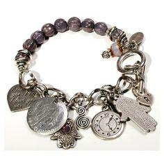 layered boho ankle bracelets | Boho Chic dangle bracelet