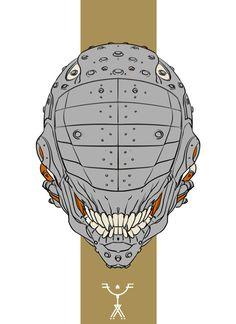 ArtStation - Grey Helmet (GIF), Fred Augis