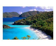 St. John, USVI-one of the most beautiful beaches I've ever visited