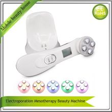Portable Electroporation Mesotherapy Needle Free Skin Tightening Face Lifting Wrinkle Removal IPL Beauty Machine //Price: $US $43.15 & FREE Shipping //