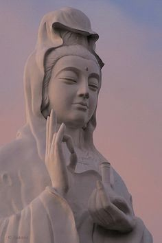 Vovinam, Vietnam. Vovinam Buddhist Temple Sculpture of Guan Yin