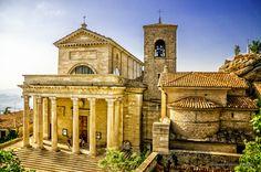 Favorite church in the world. Basilica di San Marino