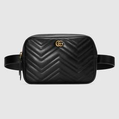 96017e382a7 GG Marmont matelassé belt bag Hip Hop Fashion