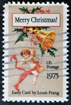 Greeting Postage stamp