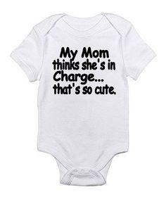 3d027f26dd Cloud White  That s So Cute  Bodysuit - Infant