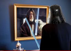 The force vs the dark side in the mirror