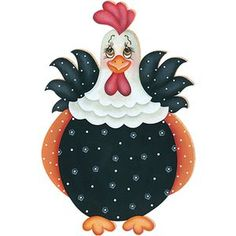 Chicken Crafts, Chicken Art, Chickens And Roosters, Pet Chickens, Tole Painting, Painting On Wood, Chicken Quilt, Chicken Pattern, Diy And Crafts