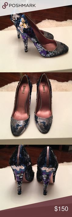 Authorities Miu Miu heels Authentic Miu Miu heels sz 38.good condition worn probably 3 times Miu Miu Shoes