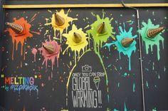 ice cream parlor mural - Google Search